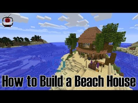 How To Build A Beach Hut In Minecraft Building With Lord Petri