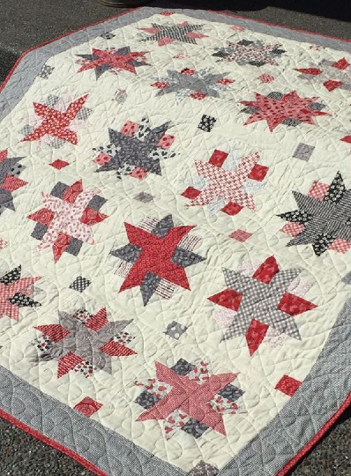 Jelly Roll Quilt Patronen.Jelly Roll Quilt Pattern For Any Time Of Year Quiltidee