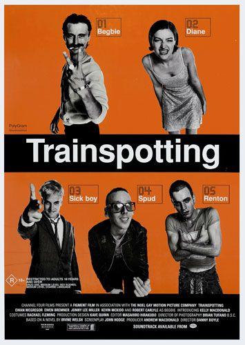 Trainspotting. Una de mis favoritas. Me marcó de por vida. Recuerdos de la Sala Garbo.