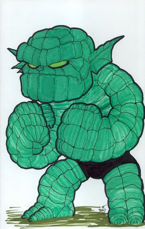 Chibi-Abomination. by hedbonstudios.deviantart.com on @DeviantArt