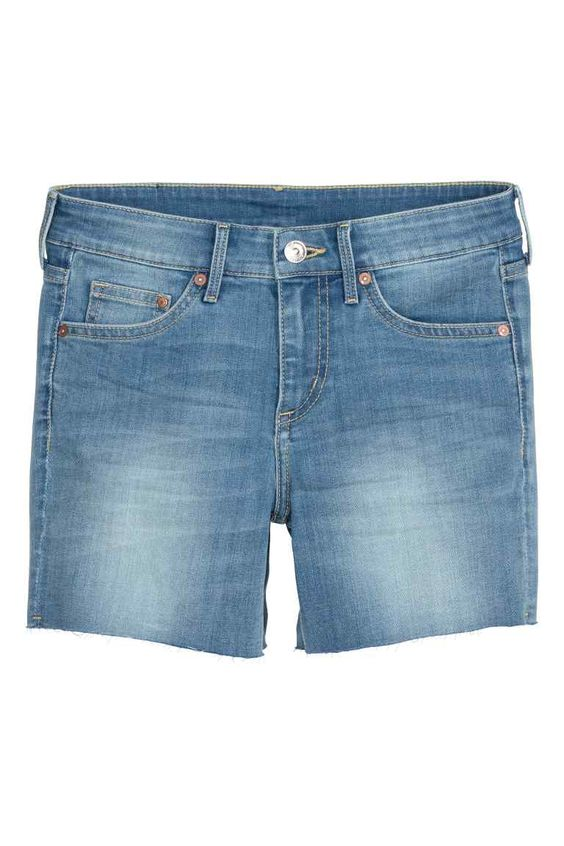Vaquero corto Regular waist | H&M