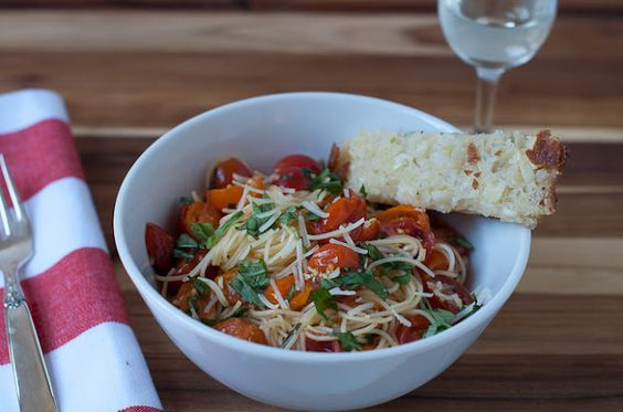 Marin Mama Cooks: Ina's summer garden pasta with video tutorial