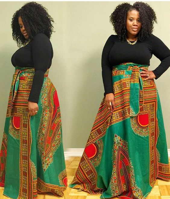 Nice skirt african fashion ankara kitenge african for Plus size african wedding dresses