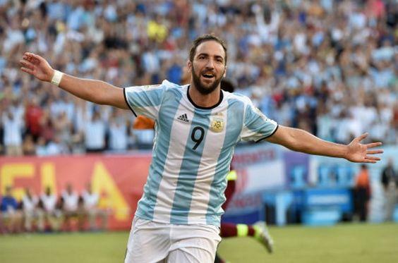 Acheter Maillot de foot pas cher 2016 2017: Acheter Maillot de HIGUAIN Argentine Copa America 2016