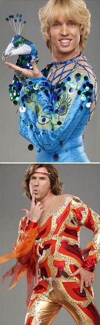 ice skating costumes -- Blades of Glory (2007) - Jon Heder and Will Farrell