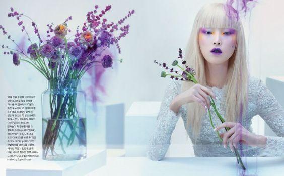 Kim Sun Hee by Hyea Won Kang for Vogue Korea February 2014 3