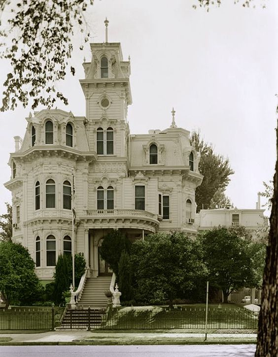 Albert Gallatin House In Sacramento This House Became The California Governor 39 S Mansion Until
