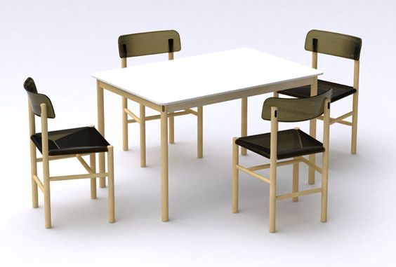 Trattoria Chair by Jasper Morrison for Magis