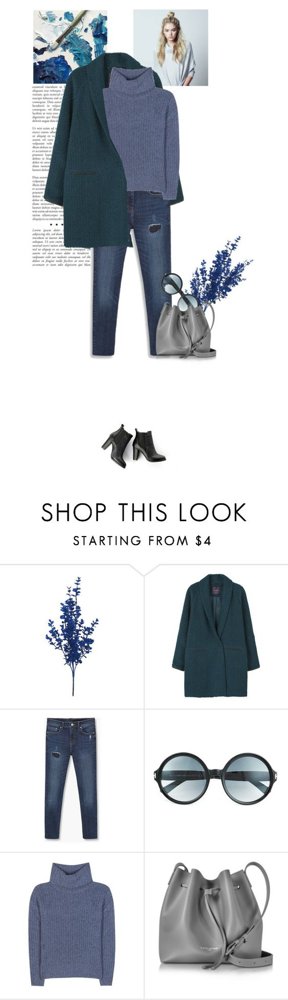 """""""Cozy cashmere sweater"""" by mari-meri ❤ liked on Polyvore featuring MANGO, Tom Ford, Loro Piana, Lancaster and SWEET MANGO"""