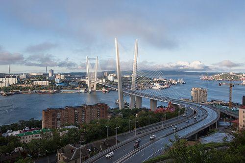 """""""Золотой мост"""", Владивосток"""