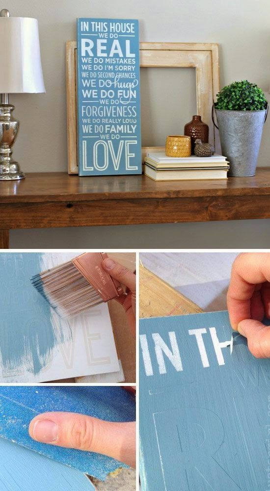 Michelle - Blog #DIY: my #good #intentions for the #year that has just #begun Fonte : http://craftriver.com/diy-home-decor-ideas-on-a-budget-diy-crafts-for-the-home/