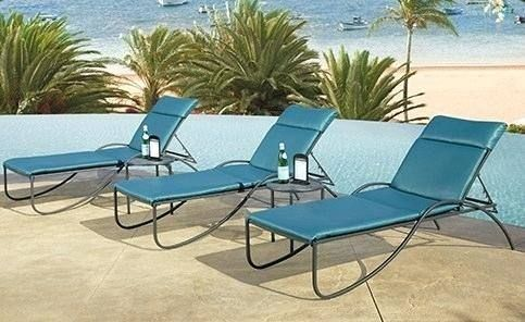 used ow lee patio furniture cast iron