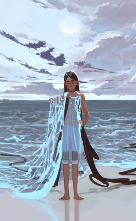 Hija de las olas