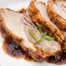 CRISPY CHINESE ROAST PORK
