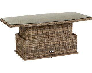Lounge Tisch Yorktown Hohenverstellbar Kaufen Bei Obi Lounge Tisch Lounge Lounge Gartenmobel