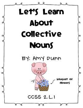 Collective Noun Pack- Meets Common Core!