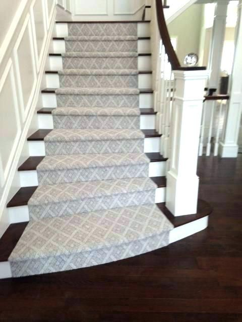 Stair Runners By The Foot Stair Runner Carpet Staircase Remodel Carpet Stairs