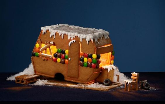 Gingerbread trailer! Idea for the Holidays??