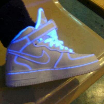 Nike Air Force Glow In The Dark