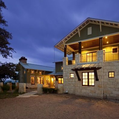 Texas hill country home exterior design hill country for Hill country architects