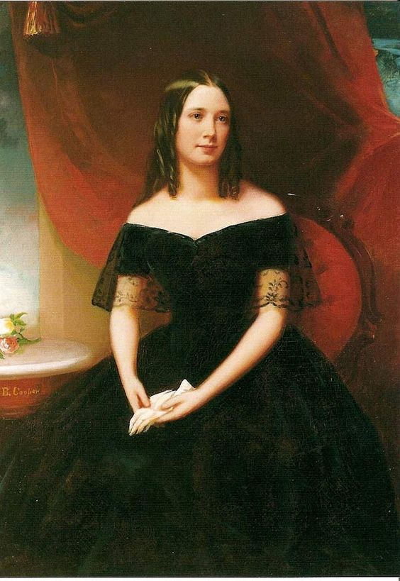 Carrie McGavock of Carnton Plantation.    The Widow of the South
