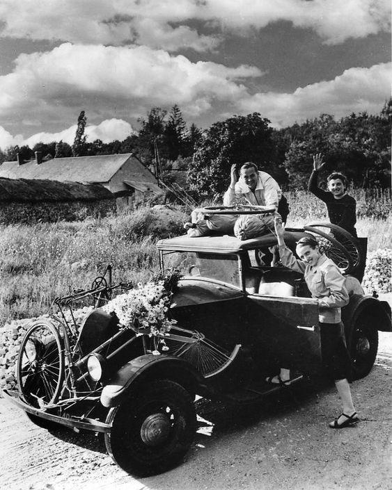 Atelier Robert Doisneau |Galeries virtuelles desphotographies de Doisneau - Vacances