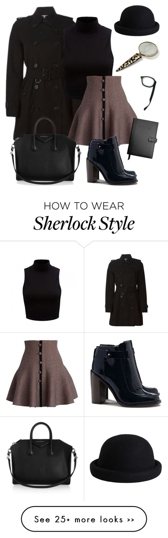 """Sherlock Homegirl"" by dejay8199 on Polyvore"