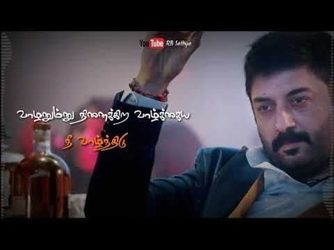 Aravind Swamy Explains About Life Tamil Motivational Mass Dialogue Whatsapp Status Rb Sathya Youtube Youtube Motivation Life