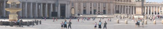 Panorama of the Vatican, a feeling of awe and inspiration: