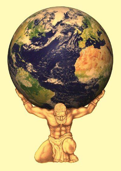 Titan Atlas by ~AristokratiaCentum - 41.1KB