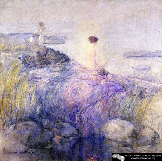Maids in the Mist  Frederick Childe Hassam