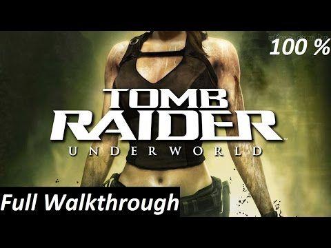 Tomb Raider Underworld Walkthrough Complete Game Hd