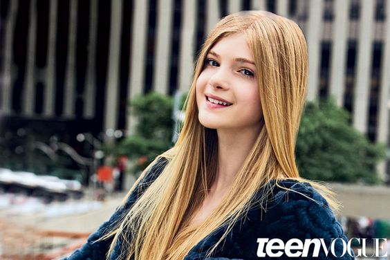 Elena's photo shoot for her Interview with Teen Vogue-- Screen Test: Meet Elena Kampouris, the Breakout Actress Who Was All the Buzz at TIFF
