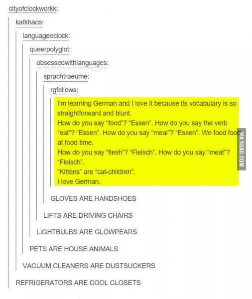 German Is Wonderful And Krankenwagon Means Sick Wagon Or Ambulance Funny Tumblr Posts Funny Quotes Tumblr Funny