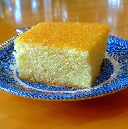 Hot Milk Sponge Cake. (One Perfect Bite)