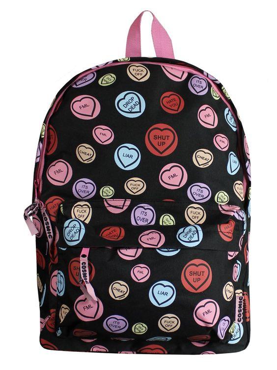 Front | Cursing Backpack