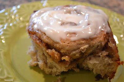 and Meals for Moms: Roasted Banana Cinnamon Rolls Oh. My. Word. Banana ...