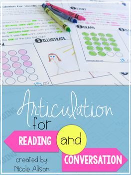 *Updated to include 6 postvocalic /r/ passages!An amazing tool for any speech therapist! Do you have students who are able to say articulation sounds at the word and sentence level but do not transfer that skill during reading and conversation? Articulation for Reading and Conversation is for you!