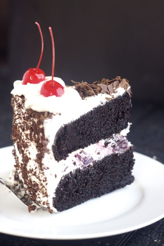 Chocolate cakes, Forest cake and Black forest on Pinterest