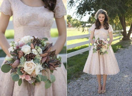 Brautstrauß im Herbst - 69 tolle Ideen für die Hochzeit
