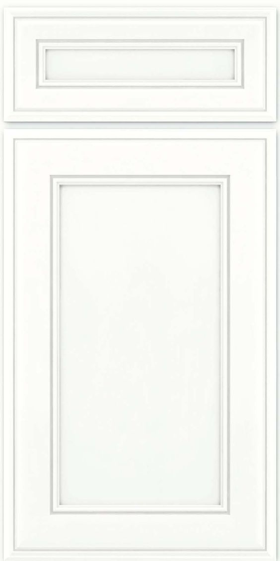 Glaze kraftmaid cabinets and squares on pinterest for Dove white cabinets with cocoa glaze
