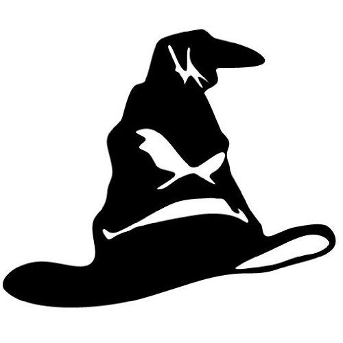 Sorting Hat Harry Potter Decal Sticker Sports: