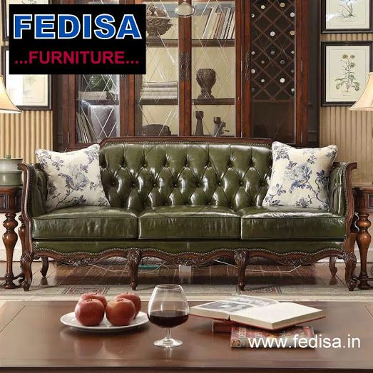 Tufted Leather Sleeper Sofa In 2020 Sofa Set Couches For Sale