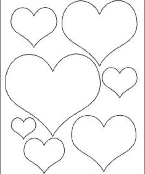 Kalp Sablonlari Ile Neler Yapilir Kalp