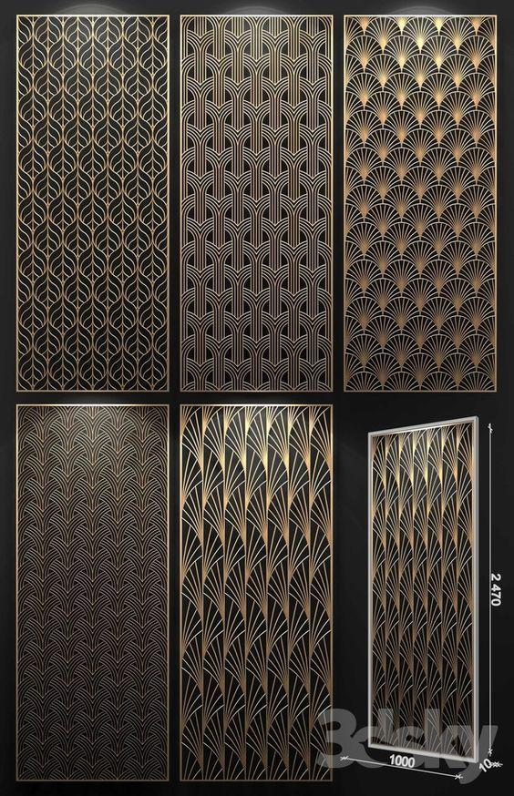 3d Models 3d Panel Decorative Panel Decorative Panels 3d Panels Jaali Design