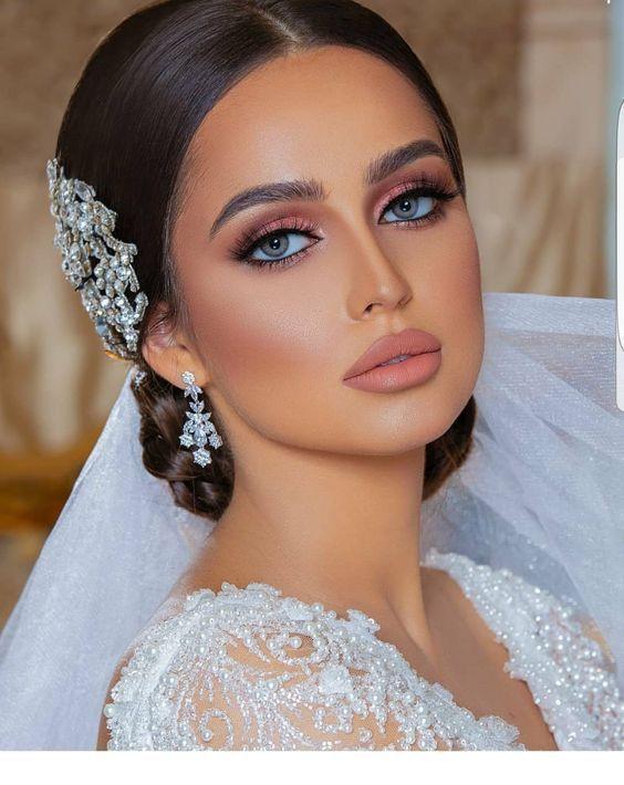 Bridal Makeup Inspiration Wedding Makeup Looks Weddingmakeup Make Up Braut Hochzeit Make Up Makeup Trends