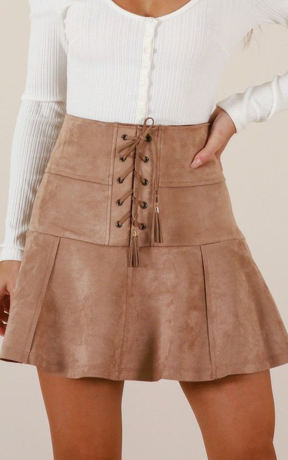 38 Women Skirts5 That Will Inspire You This Spring outfit fashion casualoutfit fashiontrends
