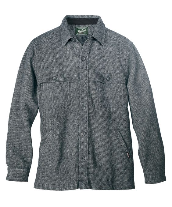 Men&39s Wool Stag Shirt Jac by WOOLRICH® The Original Outdoor