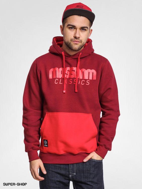 MassDnm Hoodie Classics HD (burgundy)