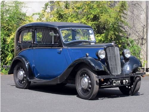 Morris Eight Series II Two-Door Saloon -  (1938)